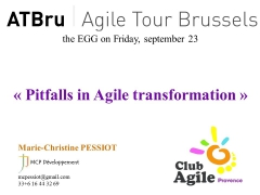 Agile, transformation Agile, changement de paradigme